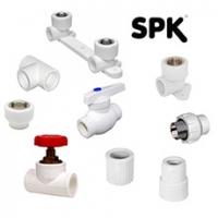 Фитинги PPR SPK, белые