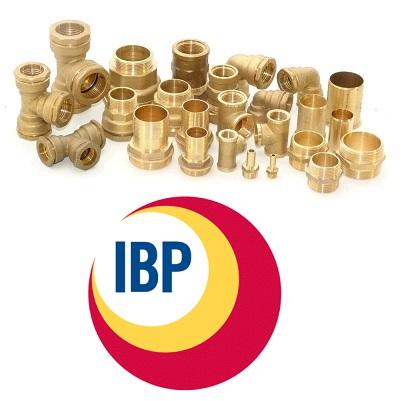 Фитинги IBP латунные резьбовые