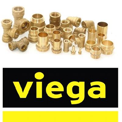 Фитинги VIEGA серия 1000 латунные резьбовые