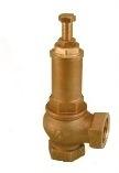 Предохранительный клапан, пружинный угловой ВР, RASTELLI, модель 560