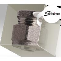Фитинги SOBIME компрессионные для металлопластиковых труб, никелированные