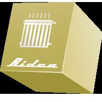 Алюминиевые  радиаторы Othello Zenit серия Ridea, дизайнерские