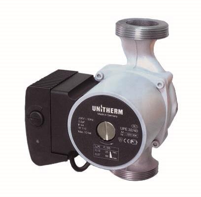 UNITHERM UPE насосы для систем отопления